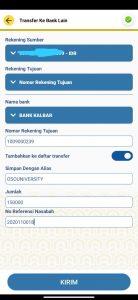 Pembayaran Pendaftaran BTN
